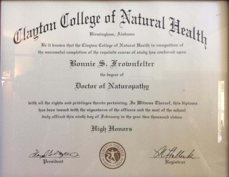 Naturopathy Doctorate
